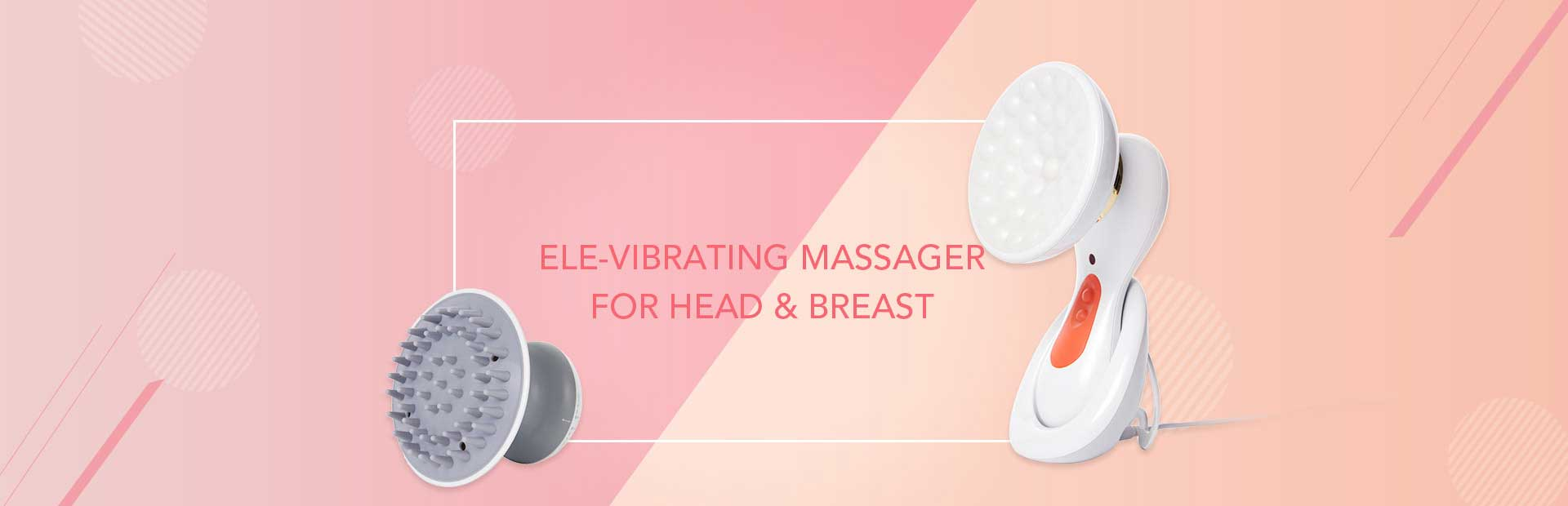 ELE-Vibrating Massager for Head & Breast