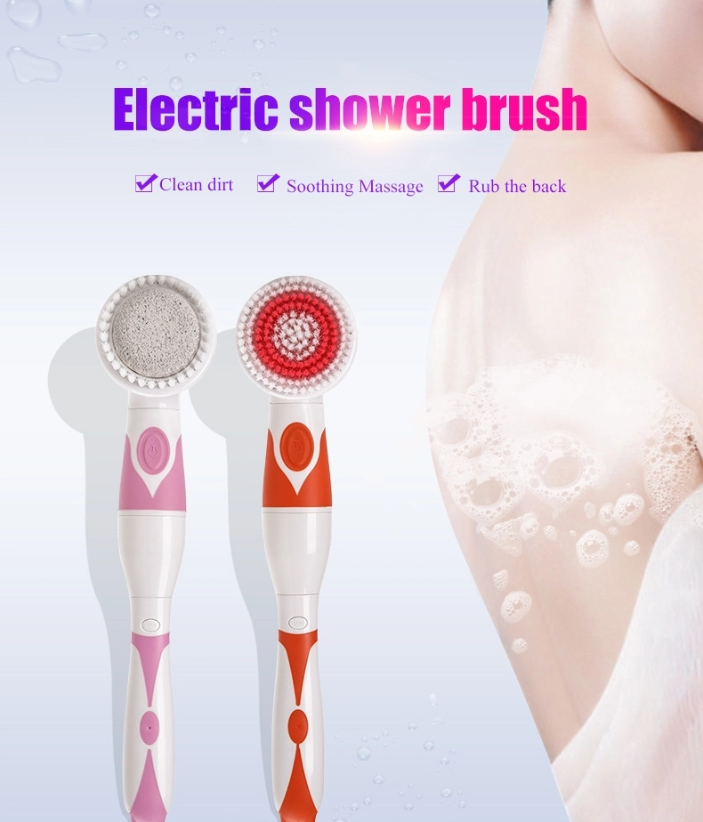 Powerful 4-1 Body Bath Brush with Long Handle AE-8285