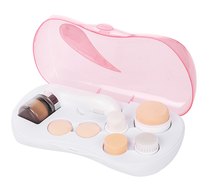 Cell Battery Powered Electric Powder Puff Beauty Cosmetic Makeup Brush AE-614A