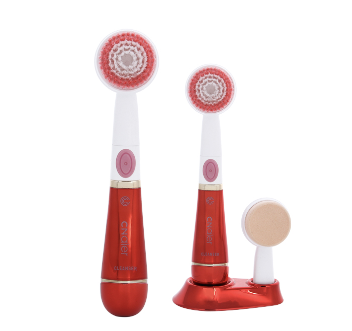 2-1 Pore Cleansing Brush Face Makeup Portable AE-608A