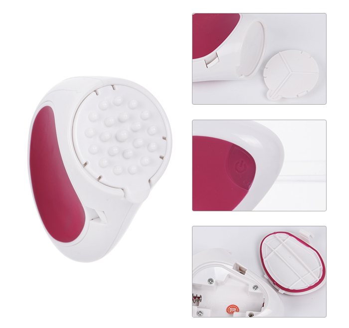 Multi-function Facial Cleaner Brush set with Travel Case AE-807A