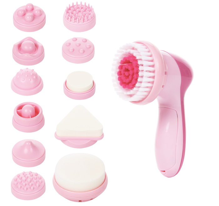 11-1 Facial Massager with Makeup Cosmetic Accessories AE-8781