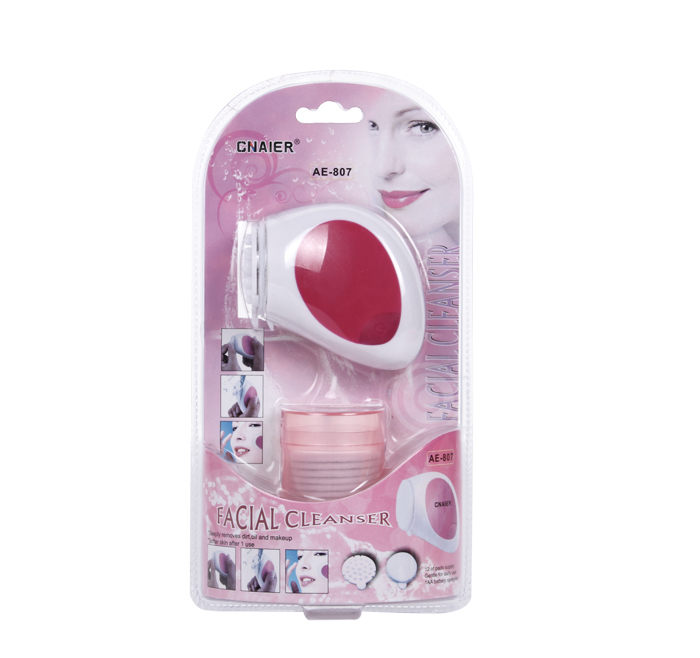 Multi-function Facial Brush Deep Cleansing with Cotton Pads AE-807