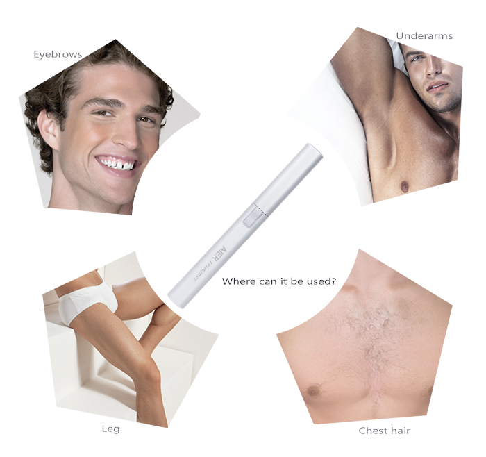 Facial Hair Eyebrow Trimmer Portable Battery Operated Shaver AE-819