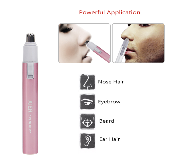 Nose & Ear Hair Trimmer for Women Lady nose trimmer AE-823