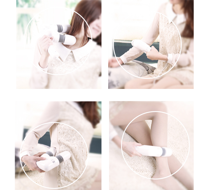 Powerful Body Massager Muscle Relief Rechargeable Anti-Stress Anti-pain AE-806