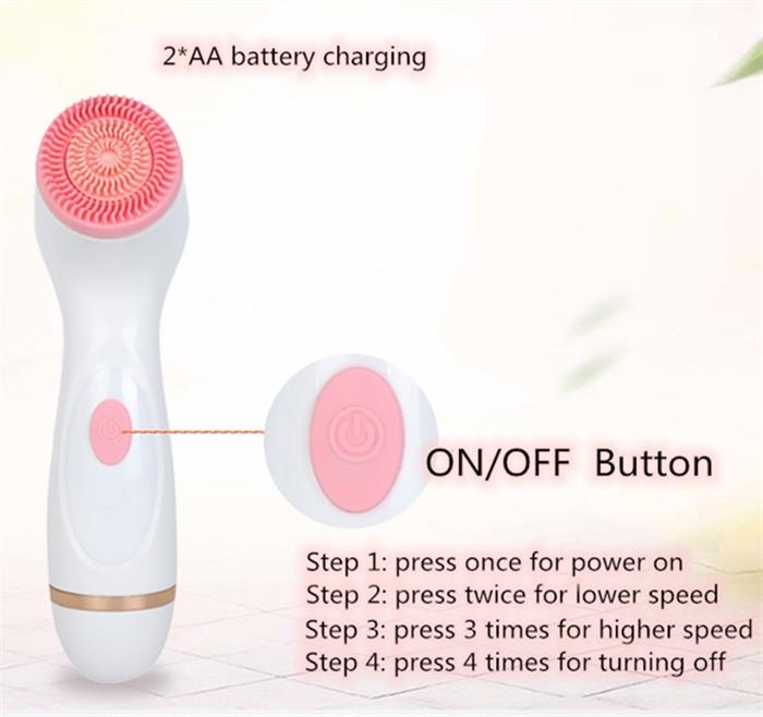 3 in 1 Electric Face Cleanser brush